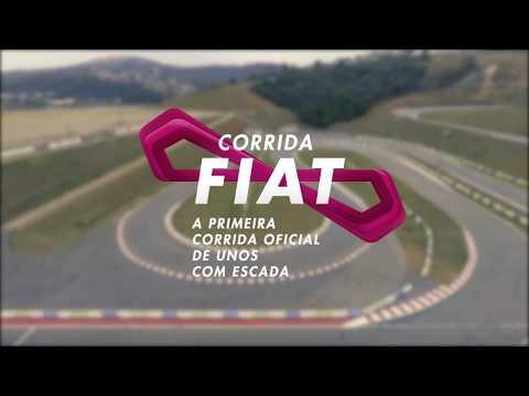Corrida Fiat: a primeira corrida oficial de Uno com escada