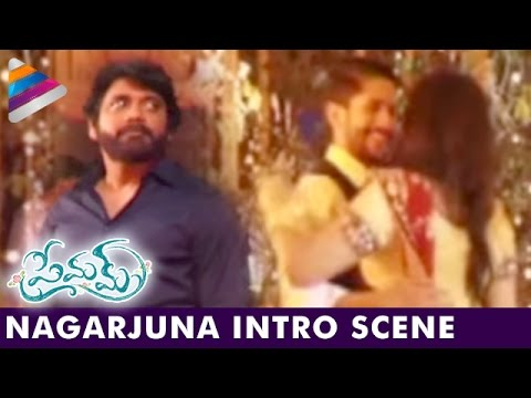 Nagarjuna Intro Scene | Premam Movie Making