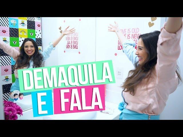 DEMAQUILA E FALA - Taciele Alcolea