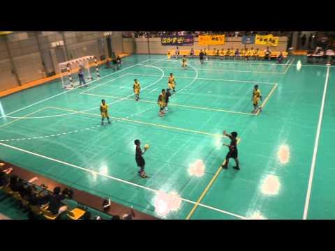 2015年全国小学生ハンドボール大会 男子決勝戦 神森小学校vs東海ハンドボールスクール
