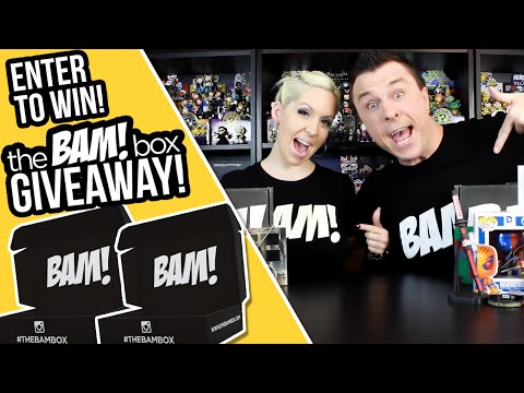 THE BAM! BOX GIVEAWAY!  Win an Awesome Unboxing Haul!
