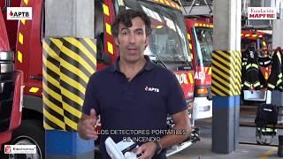 ¿Cómo funciona un detector de incendio?
