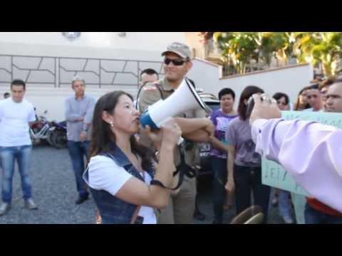 Populares manifestam por prisão de estuprador em Guaramirim