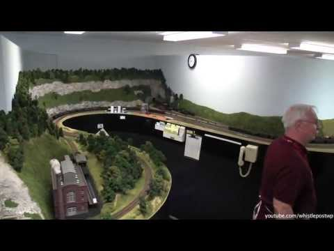 ho scale - I was able to visit Norm Stenzel's 2000 sq ft basement HO model railroad layout during the Fall of 2012. This video serves as an overview to show the scenery...