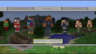 Skin Pack 3 Minecraft Xbox 360 Edition