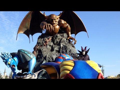 Disneyland Paris – The Maleficent Disney Villains Promenade – Halloween 2014 – HD Video