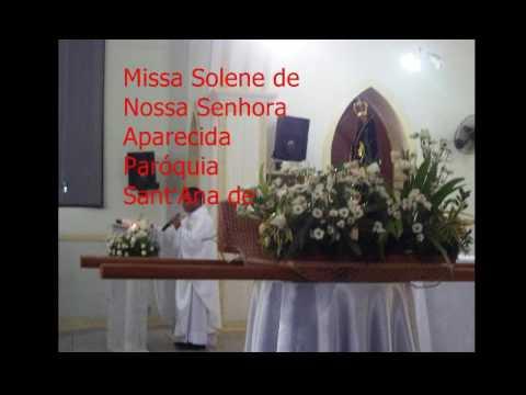 Homilia na Missa em Sonelidade a Nossa Senhora Aparecida