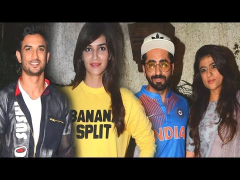Sushant Singh Rajput's Dhoni Special Screening For