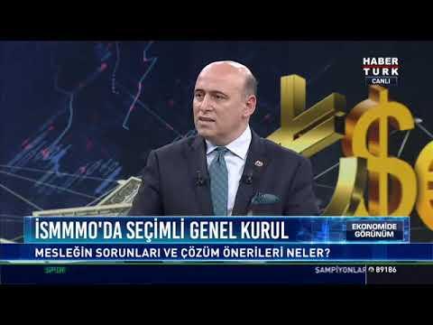 Bağımsız Mali Müşavirler Derneği Başkanı Turgay Kanarya,Habertürk TV'de yayınlanan Ekonomide Görünüm programına konuk oldu.