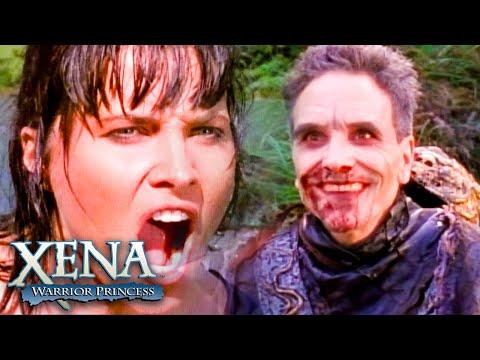 Atyminius Manages to Catch Gabrielle | Xena: Warrior Princess