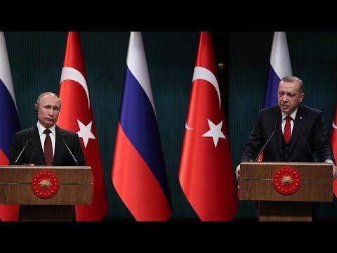 Συνάντηση Πούτιν – Ερντογάν
