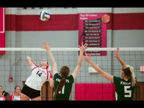 Volleyball Highlights vs Southern Virginia