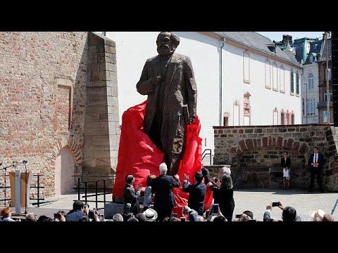 Trier enthüllt Karl-Marx-Statue zum 200-jährigen Gebu ...