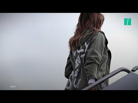 Melania Trump Wears 'I Don't Really Care' Jacket To Visit Migrant Children