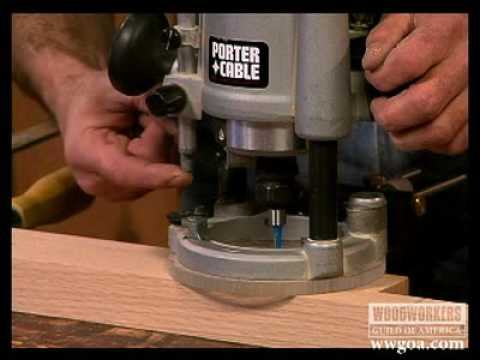 routers - https://www.youtube.com/user/wwgoaeditor Woodworking Tips: Routers - George Vondriska shows you how to set up and correctly position a plunge router on the w...