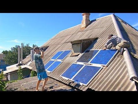 Как я строил мощную солнечную электростанцию за копейки