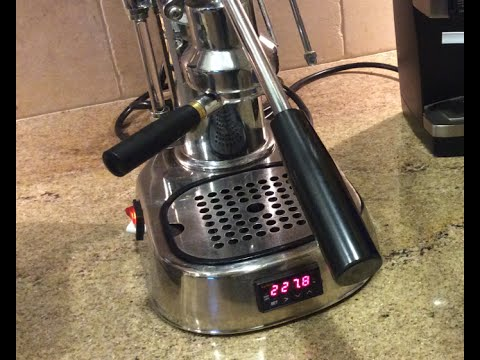 Custom PID La Pavoni espresso machine for sale – Ebay item # 231394101795
