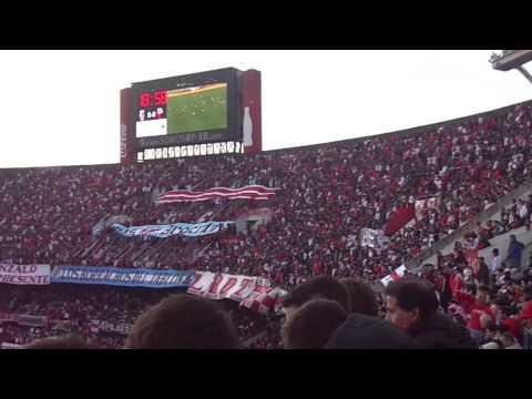 Video - Yo te quiero River Plate - River vs Colón - Fecha 18 Torneo Argentino 2015 - Los Borrachos del Tablón - River Plate - Argentina