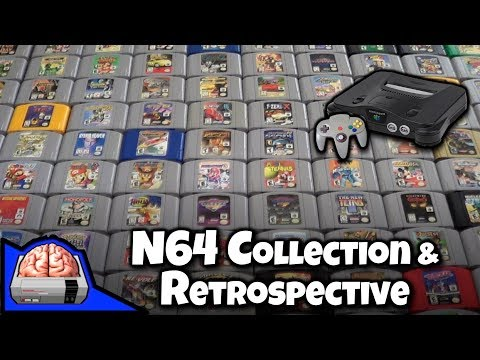 Nintendo 64 - After the success of my NES Collection video I thought I do an overview of my Nintendo 64 collection and a vignette style retrospective of the N64. In this v...