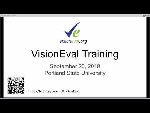 VisionEval Training Overview