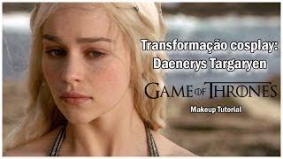 Vídeo tutorial de maquiagem, baseando-se na personagem Daenerys Targaryen, da série Game of Thrones (TV). http://www.cospandy.com ...