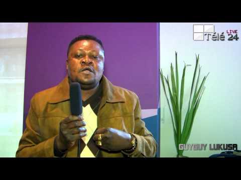 TÉLÉ 24 LIVE: Affaire Président Tshisekedi et Papa Ngbanda, GUYGUY LUKUSA lance un appel de l'unité à tous les  Combattants