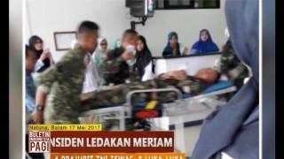 Video Insiden Ledakan Meriam Saat Latihan TNI Akibatkan 4 Prajurit Tewas - BIP 18/05 MP3, 3GP, MP4, WEBM, AVI, FLV Mei 2017