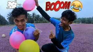 Video SIAP-SIAP MELEDAK DI MUKA😂 | Game Terbaru (BALON Challenge)😂 MP3, 3GP, MP4, WEBM, AVI, FLV Oktober 2018