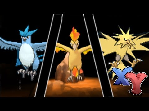 Legendary Articuno/Zapdos/Moltres Encounter (How to Catch) - Pokemon X and Y