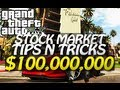 GTA 5 - $100,000,000 Stock Market Trick (Easy Money Tutorial)