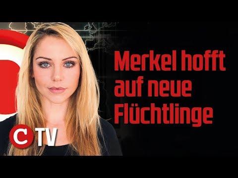 Merkel hofft auf neue FlГchtlinge, Tod im MГrkischen Viertel Die Woche COMPACT