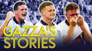 Paul Gascoigne telling hilarious Italia '90 stories | Gazza's Stories