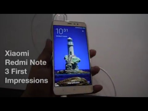 Xiaomi Redmi Note 3 First Impressions