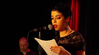 Djazia Abdoun à Vivement poésie - Mai 2018