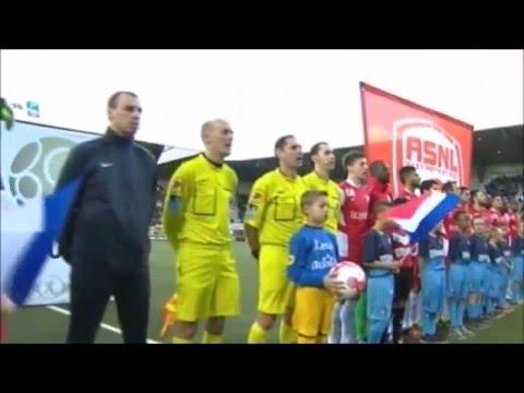 Nos U13 pour la Marseillaise du match Nancy - Le Havre