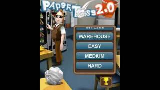 Paper Toss 2.0 videosu