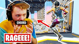 I found the HARDEST Deathrun of all time... *RAGE* (Fortnite Creative)