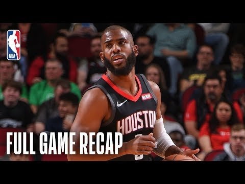 TIMBERWOLVES vs ROCKETS | Houston Knocks Down 21 Three-Pointers | March 17, 2019