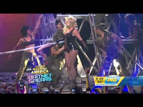 Britney Spears – Till The World Ends GMA HD 29/03/11