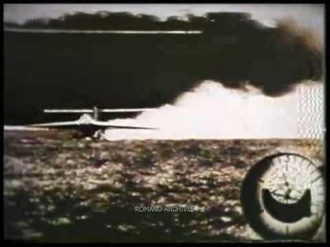 1941 Наnnа Rеiтsсh Теsтs тhе Ме-163 in Рееnемundе - DomaVideo.Ru