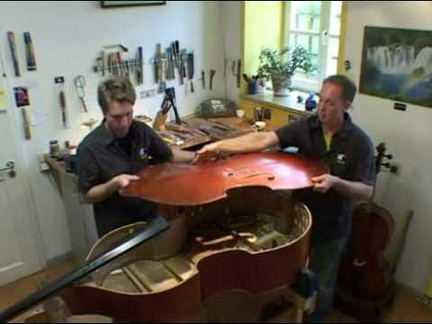 GRÜNERT Musikinstrumente München Werkstattfilm