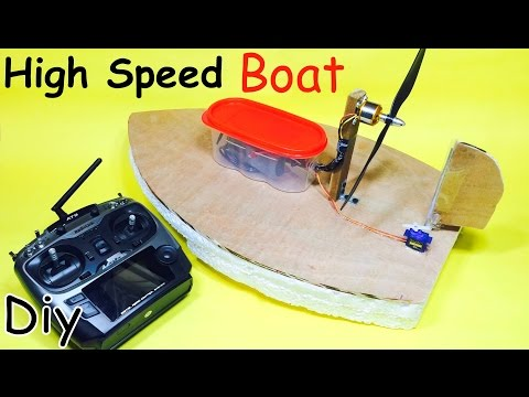 Video How to Make a RC Electric Boat | Homemade Hovercraft download in MP3, 3GP, MP4, WEBM, AVI, FLV January 2017