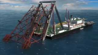 Sea Giant Sets Sail