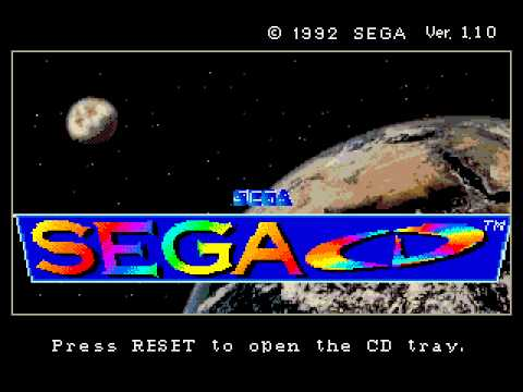 SEGA CD DATA WARNING