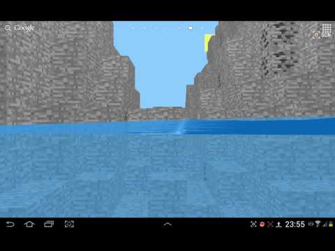 Video of Live wallpaper about Minecraft