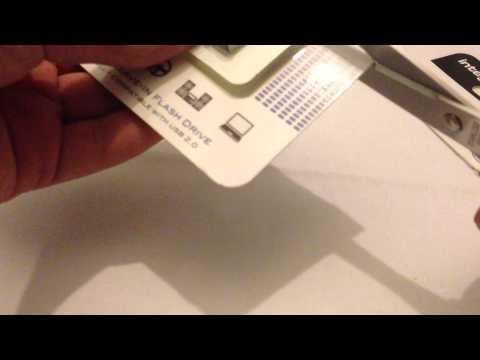 Integral Metal Fusion USB 3.0 Flash Drive Unboxing