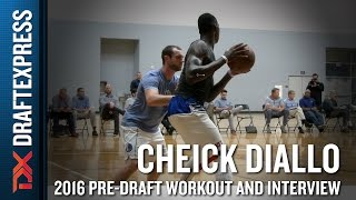 Cheick Diallo Highlights from BDA Sports Pro Day