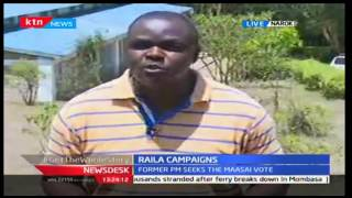 News Desk: Raila Intesifies ODM Campaigns In Narok , 30/9/2016