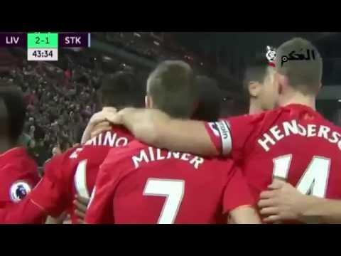 Liverpool Vs Stoke City 4 1 2016   All Goals   Highlights ~ EPL 27, Dec 2016 HD