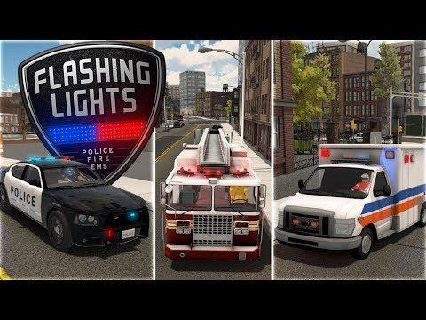 🚔 * NUEVO LSPDFR * FLASHING LIGHTS | POLICE | GAMEPLAY ESPAÑOL | SIMULADOR DE EMERGENCIAS
